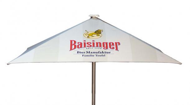 Sonnenschirm mit Werbeeindruck Baisinger